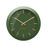 Nástenné hodiny Karlsson Globe 5840GR, 40 cm