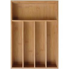 Bambusový zásobník na príbory KH-1222