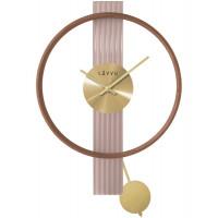 Luxusné drevené hodiny LAVVU ART DECO LCT4090 44cm