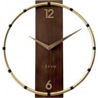 Nástenné hodiny LAVVU COMPASS Wood LCT1090, 31cm