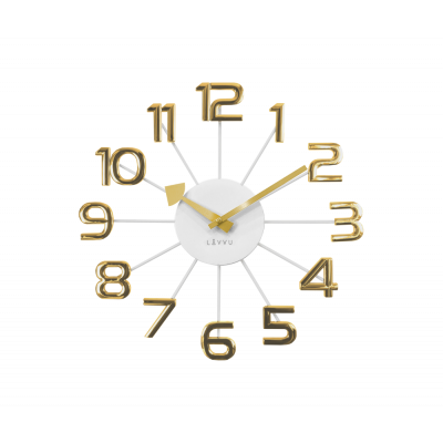 Nástenné hodiny LAVVU LCT1045 DESIGN Numerals, 37cm