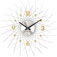 Nástenné hodiny LAVVU LCT1054 CRYSTAL Lines, 49 cm