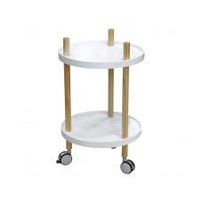 Kuchynský vozík Leitmotiv Fusion, biely