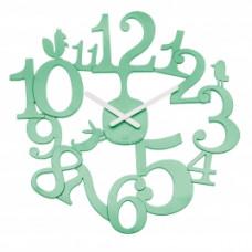 Nástenné hodiny PI:P Koziol, mätová, 45cm