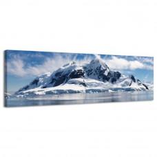 Obraz na plátne Panoráma, Antarktída, 36x118cm