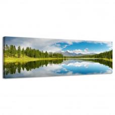 Obraz na plátne Panoráma Mountains, 158x46cm
