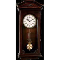 Drevené nástenné hodiny s kyvadlom MPM E03.3893.54, 72cm