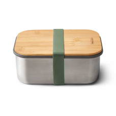BLACK-BLUM Sandwich box BoxAppetit 1250ml, nerez / bambus, zelený