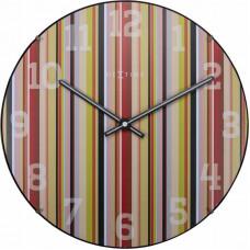 Dizajnové nástenné hodiny 3168 Nextime Smithy Dome 35cm