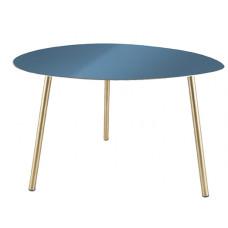 Odkladací stôl Leitmotiv Ovoid Large LM1814, modrý