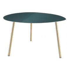 Odkladací stôl Leitmotiv Ovoid Large LM1815, zelený