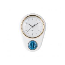 Hodiny s minútkou Present Time PT3264WH, 23cm