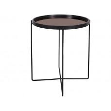 Príručný stolík Leitmotiv Polished LM1733, čierny