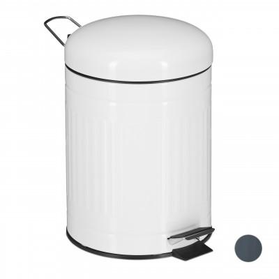 Odpadkový kôš 5L biely, RD5616