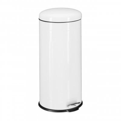 Odpadkový kôš 30L biely, RD5619