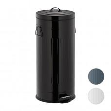 Odpadkový kôš 30L čierny Vintage, RD5614