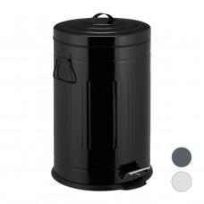 Odpadkový kôš Vintage 20L čierny, RD5613