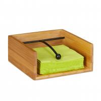 Bambusový držiak na servítky s ťažítkom, RD2774