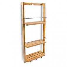 Bambusový kúpeľňový regál s 3 policami, RD7163