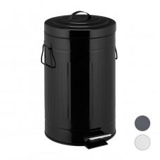 Odpadkový kôš Vintage 12L čierny, RD5612