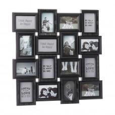 Fotogaléria Collage na 16 fotiek rd5625BK, 70cm