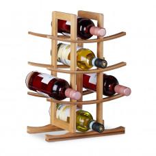 Bambusový stojan na víno na 12 fliaš, RD4607