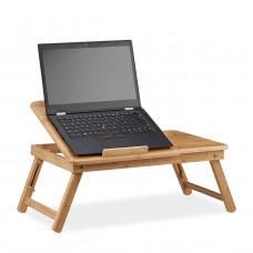 Stolík na notebook do postele Bambusový, RD2219