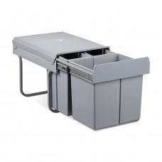 Odpadkový kôš na triedený odpad RD1230, výsuvný