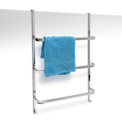 Dverový vešiak na uteráky chrómový, RD9259, 85cm
