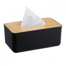 Box na papierové utierky Tissue Box RD2648, čierny