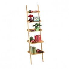 Bambusový rebrík RD1459, 5 úrovní