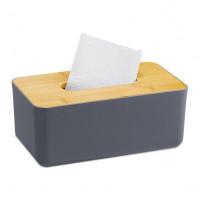Box na papierové utierky Tissue Box RD2650, sivý