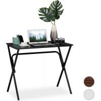 Kancelársky stôl RD6045, čierny