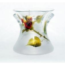 Sklená váza Ruža 14 cm
