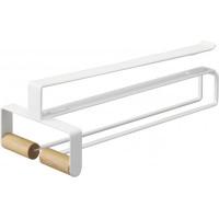 Držiak pohárov pod policu Yamazaki Tosca Under Shelf Tool Hook, biely