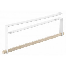 Držiak utierok pod policu Yamazaki Tosca Under Shelf Towel Holder, biely
