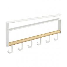 Háčiky pod policu Yamazaki Tosca Under Shelf Tool Hook, biely
