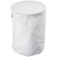 Kôš na bielizeň Yamazaki Tower Laundry Basket, nylon / biely