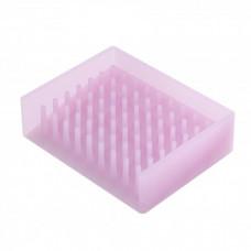 Podložka pod mydlo Yamazaki Float, ružová
