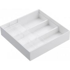 Priehradky do zásuvky Yamazaki Tower Desk Tray, biele