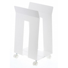 Stohovací vozík Yamazaki Frame, biely
