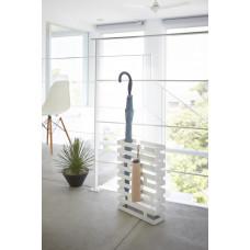 Stojan na dáždniky Yamazaki Brick, široký / biely