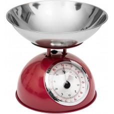 Kuchynská váha 5Five Retro Colors červená, 5kg