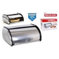 Nerezový chlebník Privilege 8660