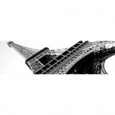 Obraz na plátne Panoráma, Eiffelova veža, 36x118cm