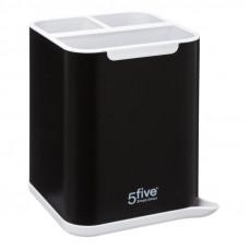 Odkvapkávač na príbory, 5Five NEO Simple Smart čierny