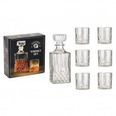 7-dielna sada karafy a pohárov na whisky WUR5065