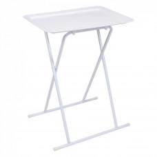 Bočný stolík Home deco factory HD6609, biely