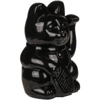 Čínska mačka pre šťastie XL Kemi 9820, čierna