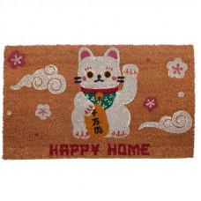Rohožka čínska mačka šťastia Maneki Neko MAT55, 76 cm
